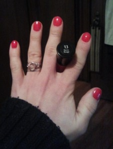 Racey Rouge #13 - Sally Hansen