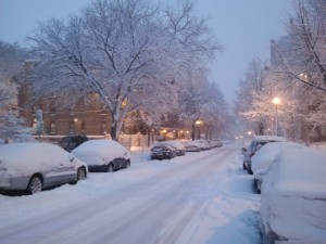 Down my street