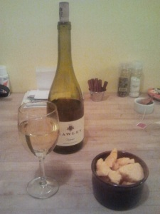 Hawley wine and grandma's cheese curds