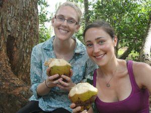 Fresh coconuts!