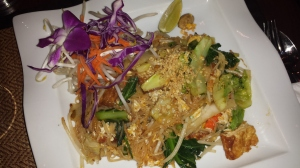 ...and tofu pad thai...