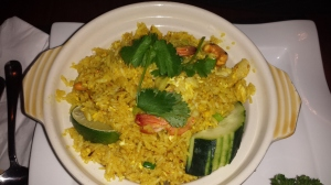 ...and thai fried rice.
